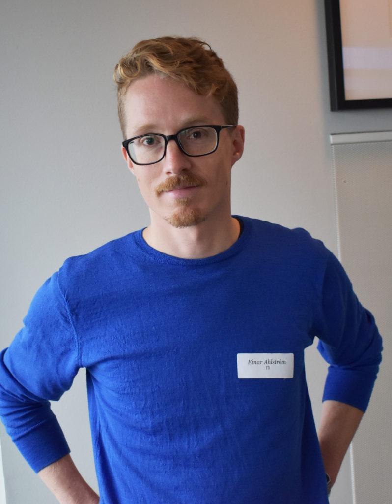 Einar Ahlström, materialspecialist på FTI.