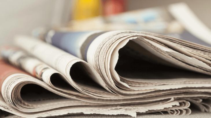 """Tidningspapper är ett """"bra"""" val för att undvika virus."""